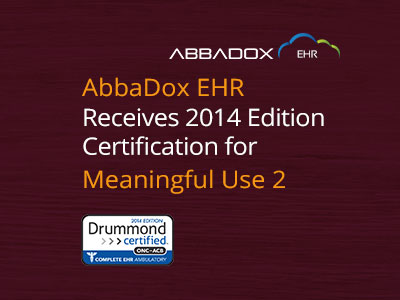 IDS AbbaDox EHR Achieves 2014 Edition Meaningful Use Stage 2 Certification