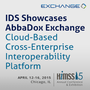 IDS Showcases AbbaDox Exchange Cloud-Based Cross-Enterprise Interoperability Platform at HIMSS 2015