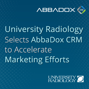 University Radiology Selects IDS AbbaDox Cloud-Based CRM to Accelerate Marketing Efforts