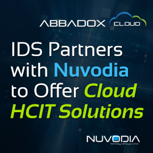 IDS Partners with Nuvodia to Offer Cloud HCIT Solutions