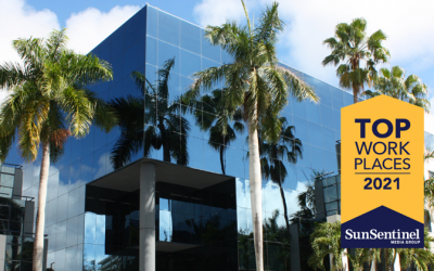 The Sun Sentinel Names AbbaDox a Winner of the South Florida Top Workplaces 2021 Award